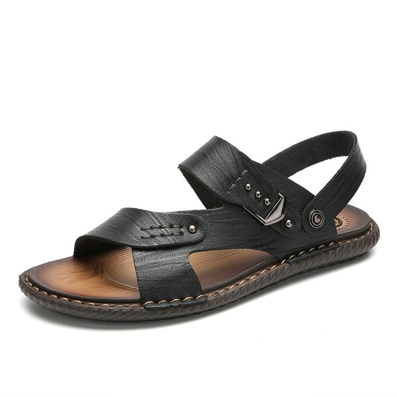 Men's Fashion Casual Leather Sandals