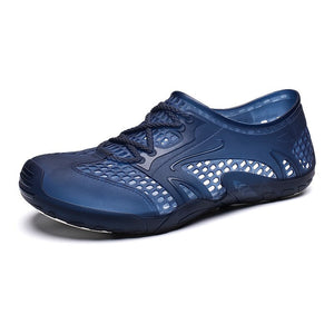 Men Breathable Porous Shoes