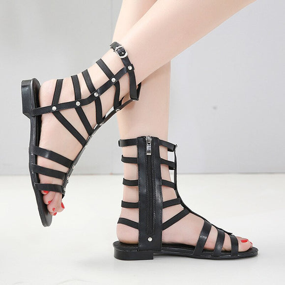 Hollow out Breathable Flat Sandals