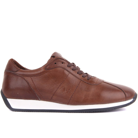 Sail Lakers-Genuine Leather Shoes