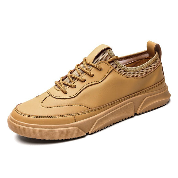 Fashion Solid Leather Business Shoes