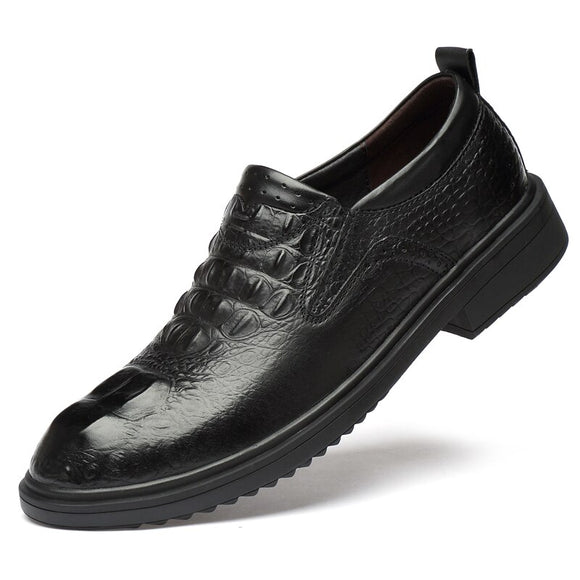 men's business genuine leather shoes