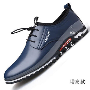 New men's leather casual shoes