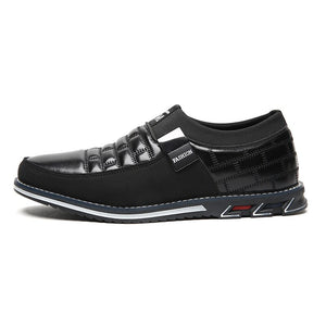 Men genuine leather shoes