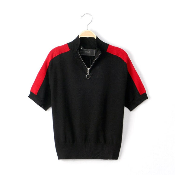 Elegant And Comfortable Knitted T-shirt