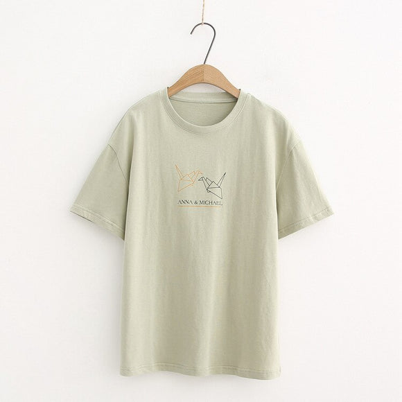 Comfortable Loose-Fit T-shirt