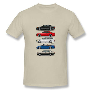 Funny Stack of Mercedes Class Men's T Shirt