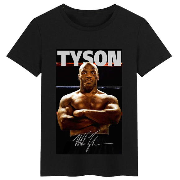Mike Tyson Commemorates Customize T-shirt