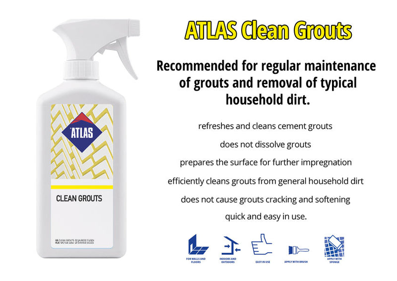 ATLAS Clean Grouts 0.5L