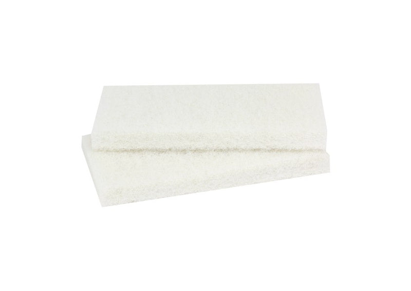 Exchangeable Soft Fibre Pads 120x250mm for Epoxy Grout Cleaning- set 2 pcs