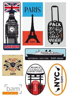 STICKERS - BAM COLLECTION VINTAGE