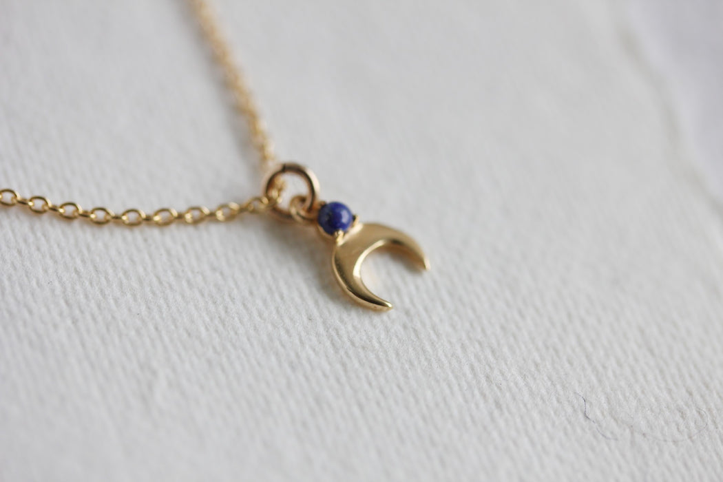Cassiopeia Necklace in Lapis