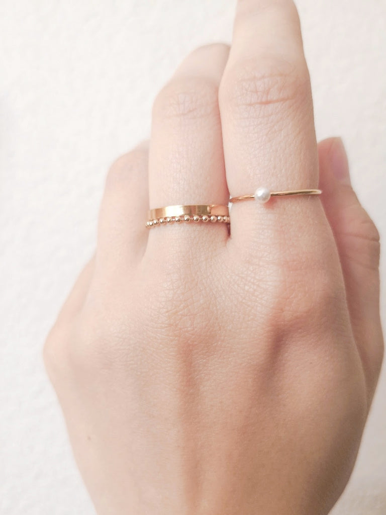 Baby Curve Ring