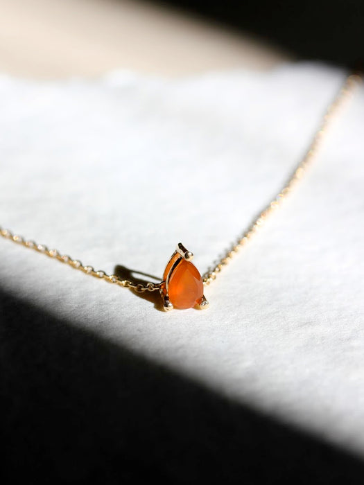 Carnelian Trouvaille Necklace