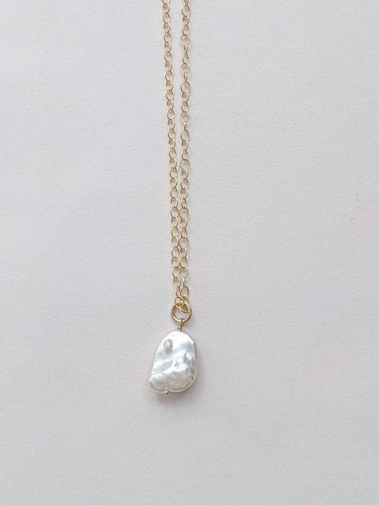 Cloud Pearl Necklace