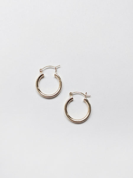 Medium Hinged Hoops