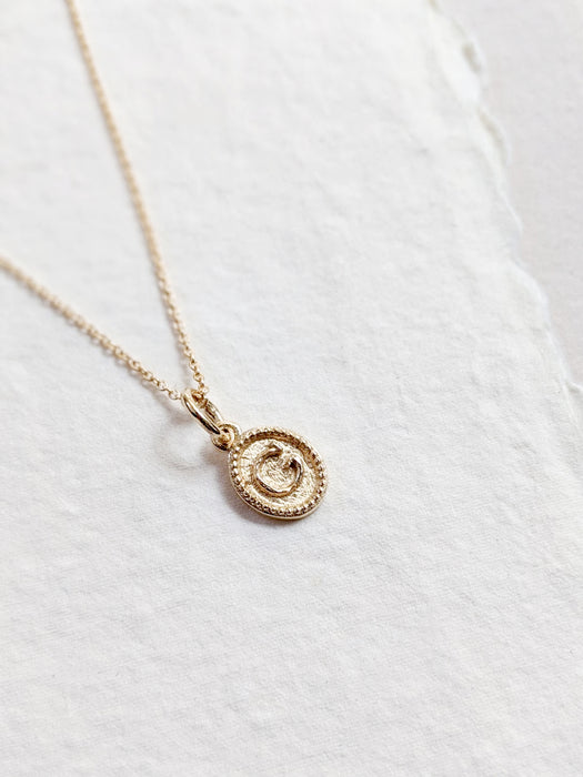 Anais Initial Necklace