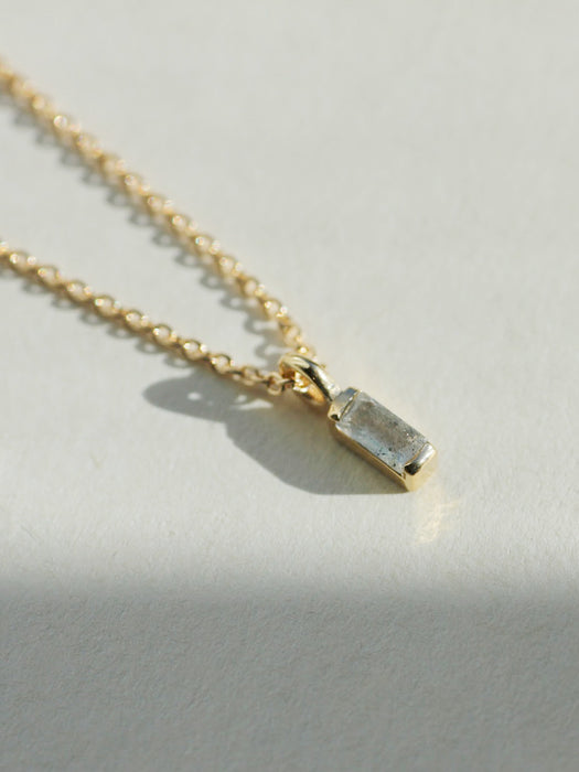 Labradorite Vesper Necklace