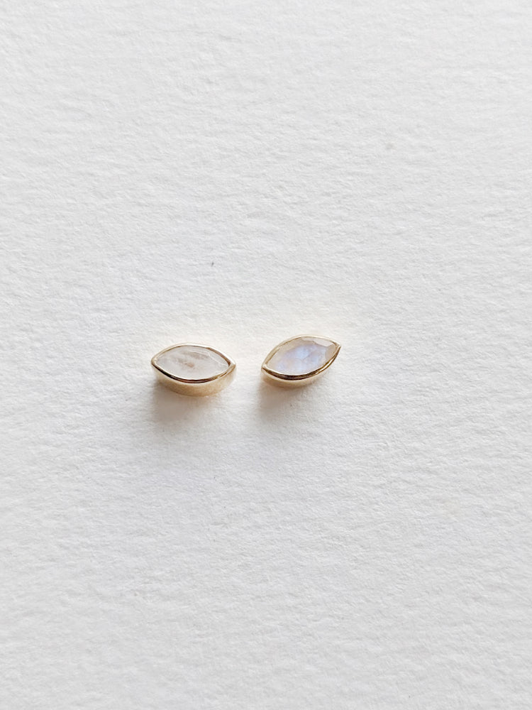 Moonstone Magic Eye Studs