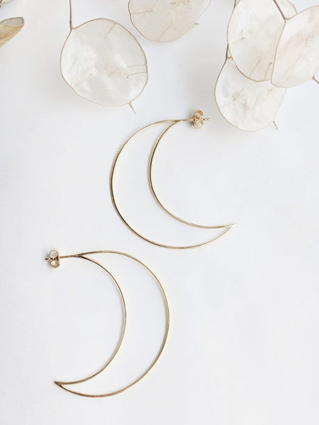 Moon Hoops (One of a Kind - Sample Sale)