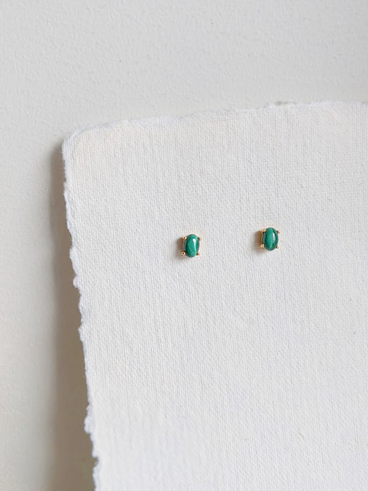 Ava Studs in Malachite