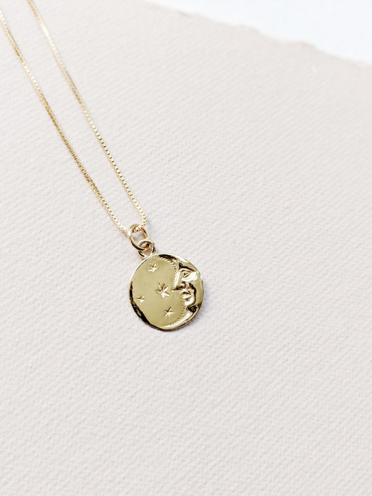 Lucky Moon Necklace