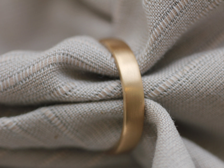 Matte Brushed Ceremony Band