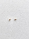 The Tiniest Marquise Studs