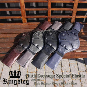 Kingsley Special Elastic Girth - Brown