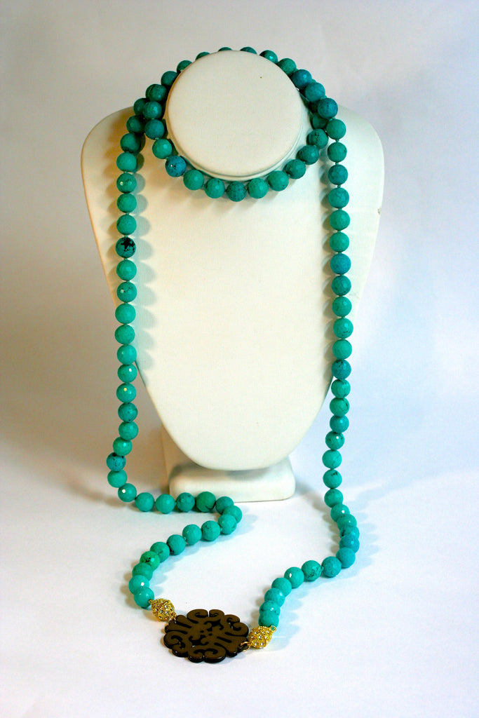 CDW GemSnap Beaded Necklace