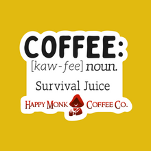Load image into Gallery viewer, Happy Monk Coffee Sticker Trifecta!