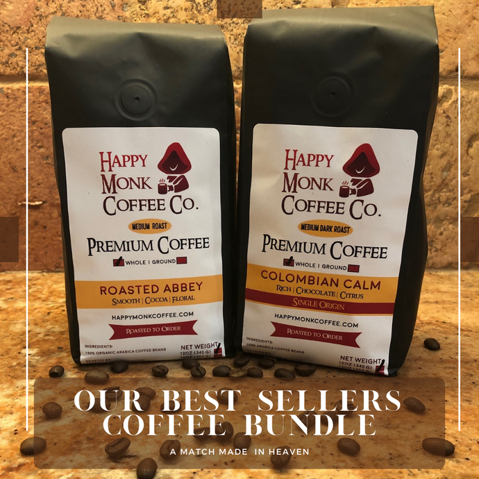 Best Sellers Bundle - Roasted Abbey & Colombian Calm