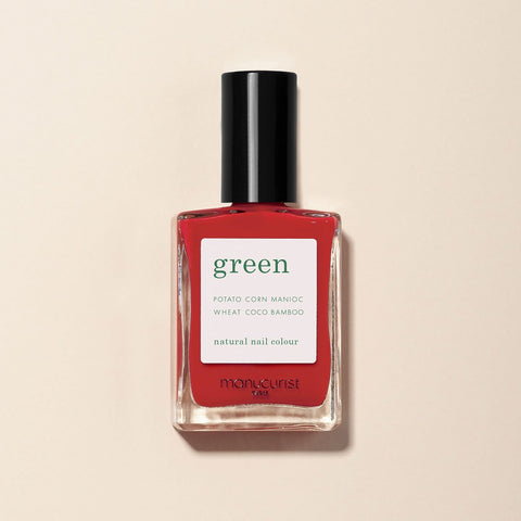 Poppy Red Vernis Green