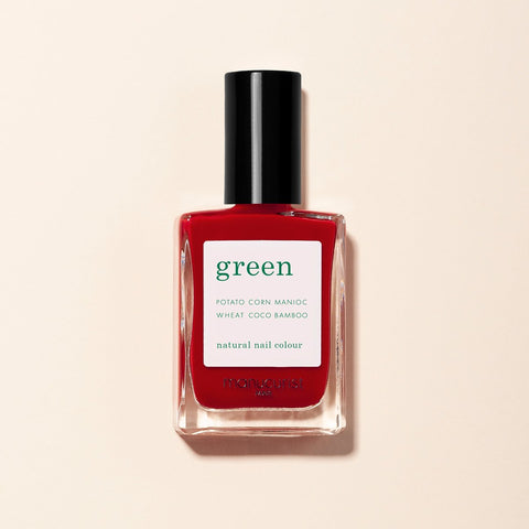 Red Cherry Vernis Green