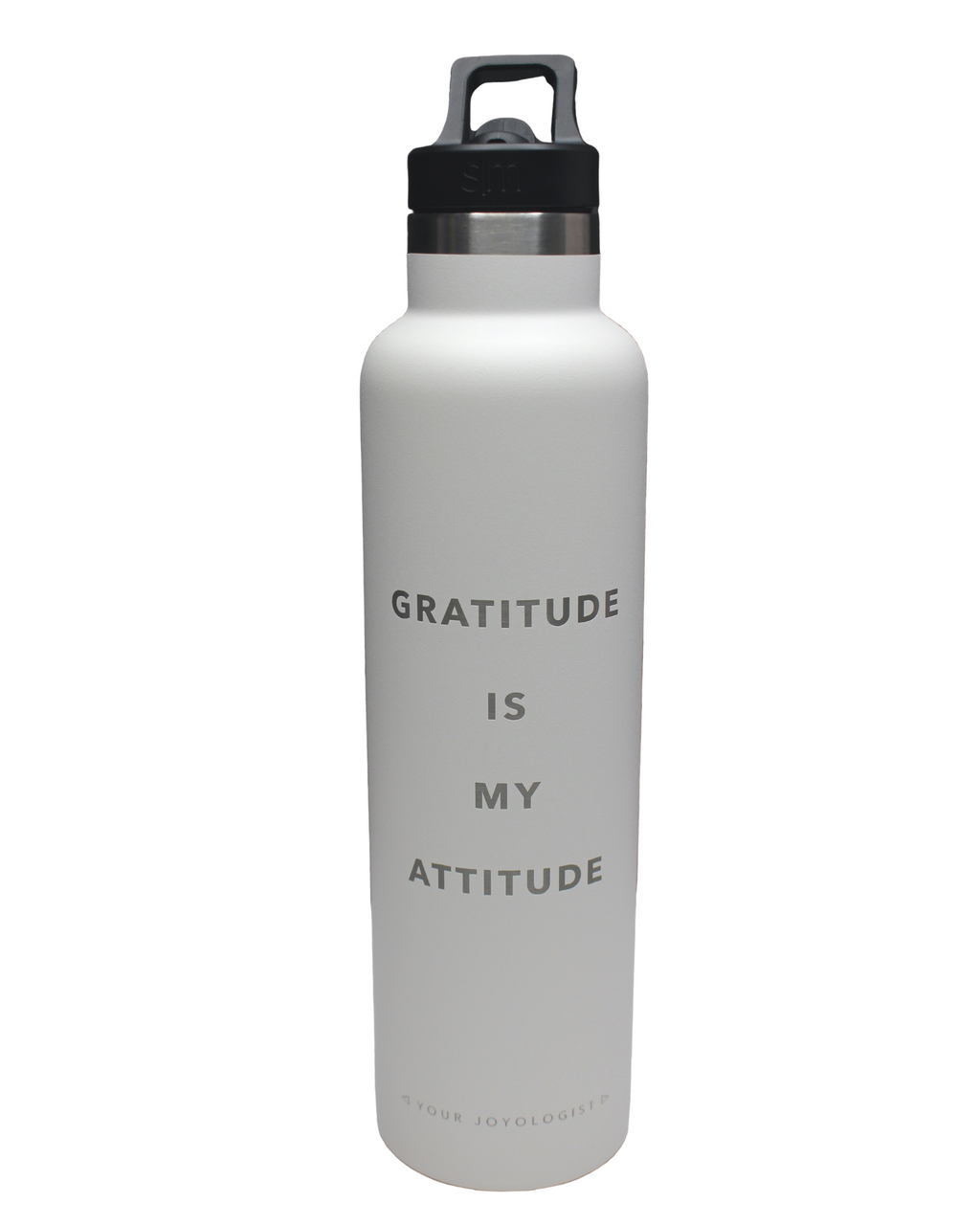 Gratitude is My Attitude - Water Bottle