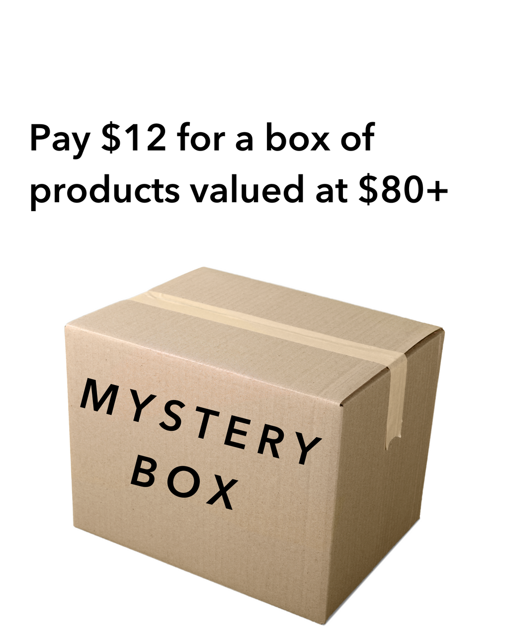 Small Mystery Box! Valued at $80+