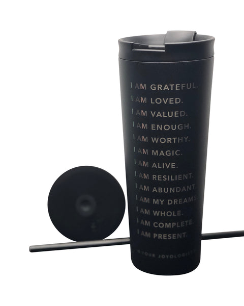 I am Affirmations - Insulated Tumbler **LIMITED AVAILABILITY**