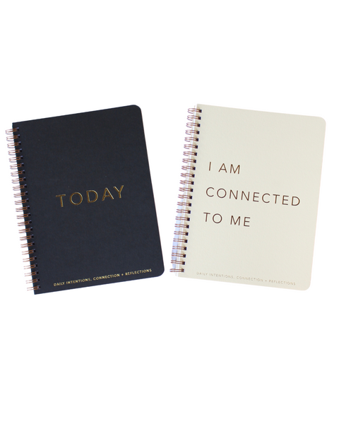 DAILY INTENTION + CONNECTION + REFLECTION JOURNAL