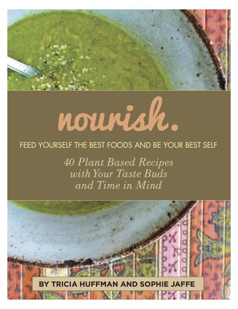 Nourish 40 Recipe Gluten Free Plant Based E-Book Cookook