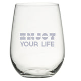 Pick Your Six - Stemless Wine Glass Set