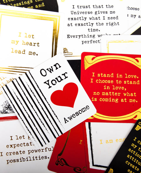 Own Your Awesome® Affirmation Deck - Imperfect