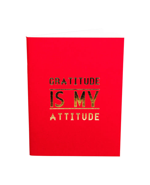 Gratitude is My Attitude - Mini Journal