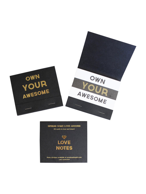 Own Your Awesome® Love Notes