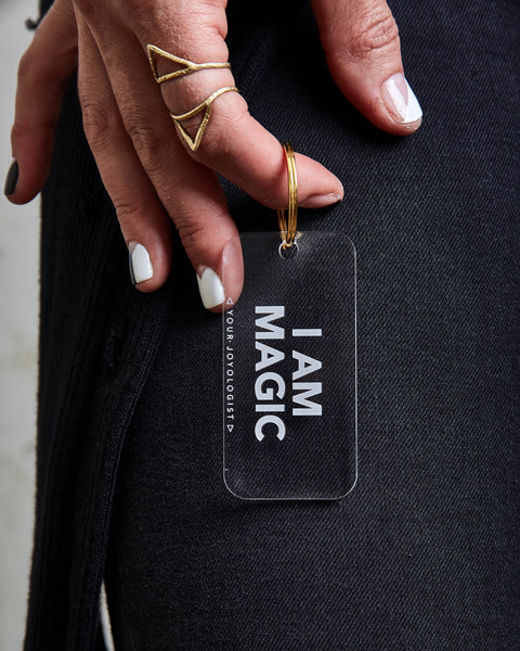 I am magic - key chain
