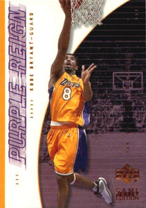 Kobe Bryant 2010 2011 Upper Deck Game Jersey Edition Purple Reign Card #442