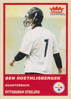 Ben Roethlisberger 2004 Fleer Tradition Mint Rookie Card #333