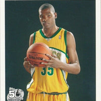 Kevin Durant 2007 2008 Topps Basketball Limited Edition Mint White Bordered Rookie Card #2 of 14