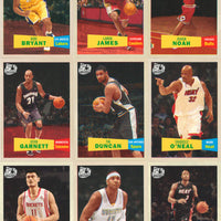 2007 2008 Topps Basketball Complete Mint MASTER Series Card Set Featuring 2 Kevin Durant Rookie Cards