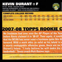 Kevin Durant 2007 2008 Topps Basketball Series Mint Rookie Card #112
