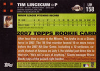 2007 Topps Traded Baseball Updates and Highlights Series Factory Sealed Set